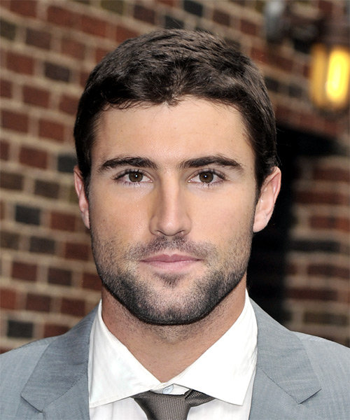 Brody Jenner Short Straight Casual Hairstyle