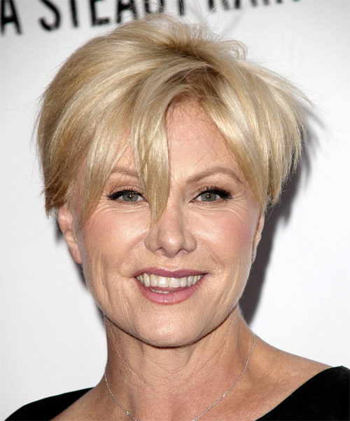 Deborra Lee Furness Short Straight Casual Hairstyle