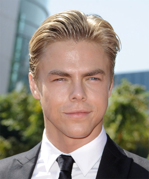 Derek Hough Short Straight Formal Hairstyle