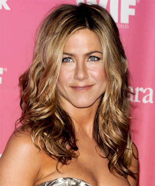 Jennifer Aniston Wavy Casual