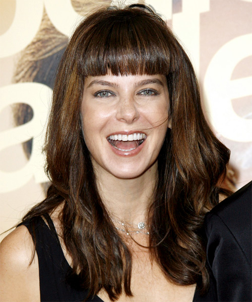 Jules Asner - Casual Long Wavy Hairstyle