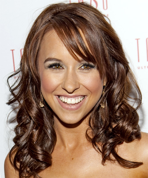 Lacey Chabert Long Wavy Formal Hairstyle