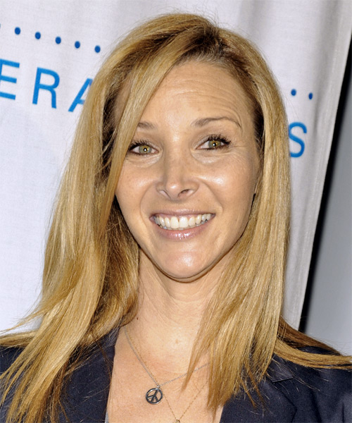 Lisa Kudrow Long Straight Casual Hairstyle