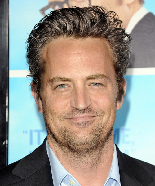 Matthew Perry Short Straight Casual Hairstyle