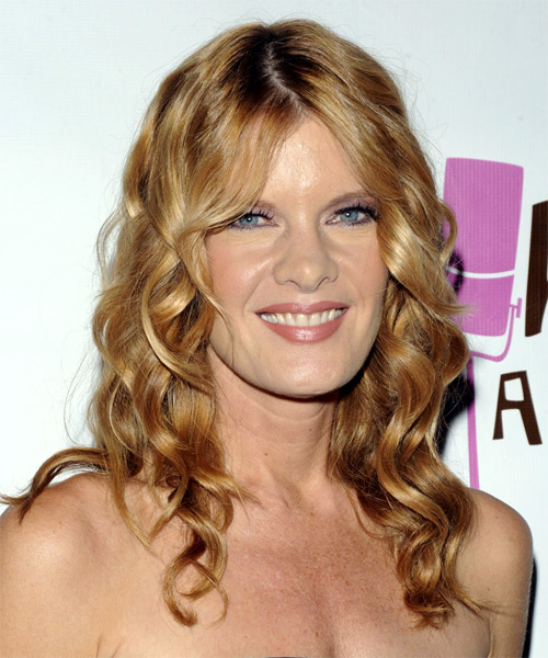 Michelle Stafford - Formal Long Wavy Hairstyle