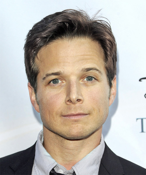 Scott Wolf - Formal Short Straight Hairstyle