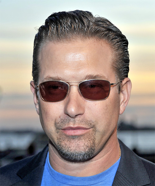 Stephen Baldwin Short Straight Hairstyle