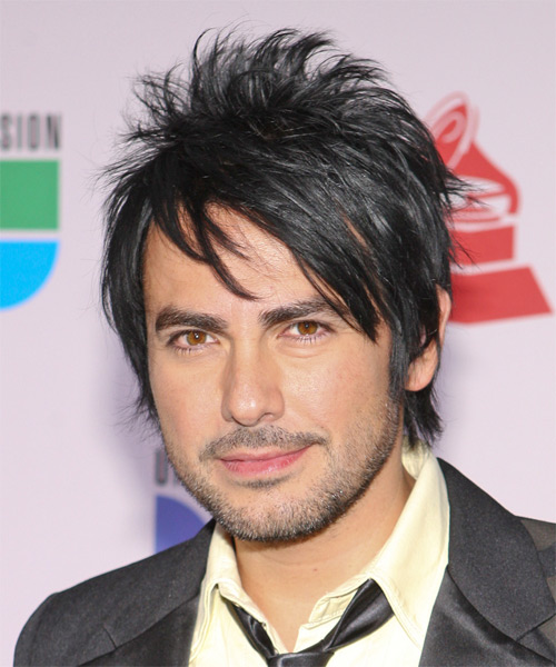 Beto Cuevas Short Straight Alternative Hairstyle