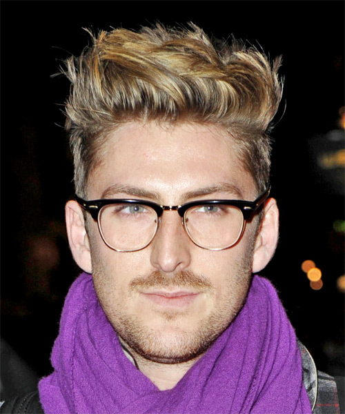 Henry Holland Short Straight Alternative Hairstyle