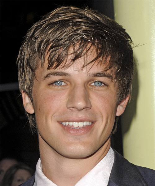 Matt Lanter - Casual Short Straight Hairstyle