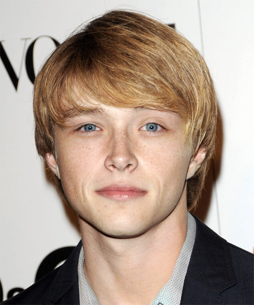 Sterling Knight - Formal Medium Straight Hairstyle
