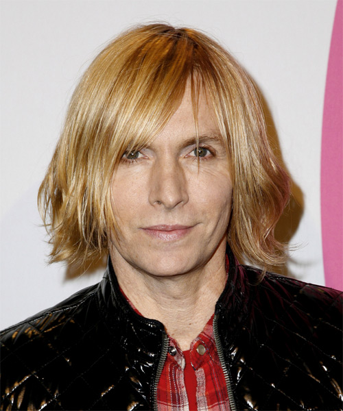 Marc Bower Medium Straight Hairstyle