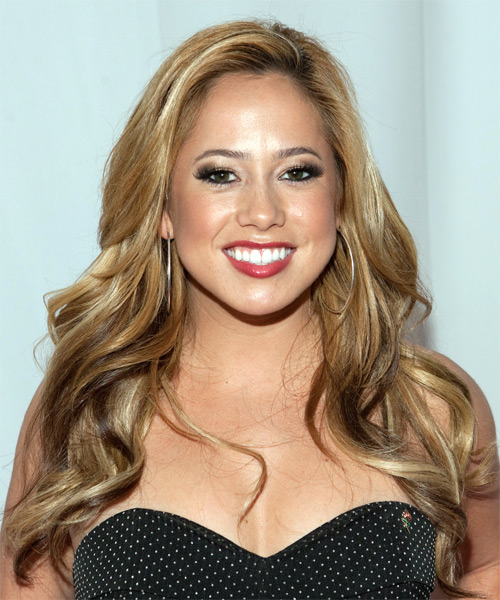 Sabrina Bryan Long Wavy Formal Hairstyle