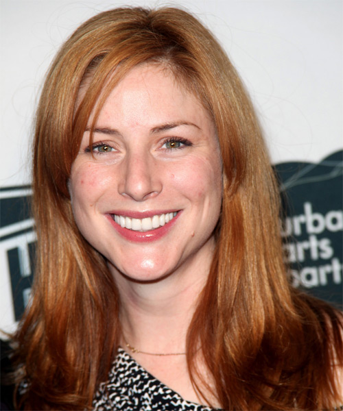 Diane Neal Long Straight Casual Hairstyle