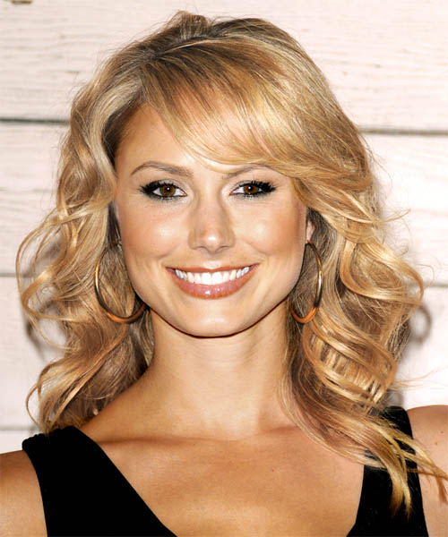 Stacy Keibler - Formal Long Wavy Hairstyle