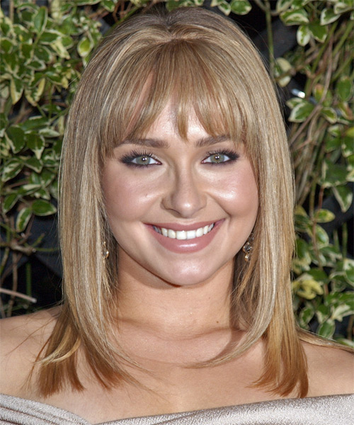 Hayden Panettiere - Formal Long Straight Hairstyle