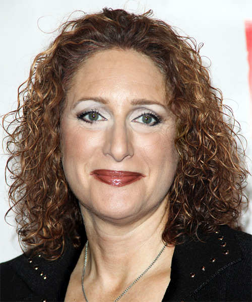 Judy Gold Medium Curly Casual Hairstyle
