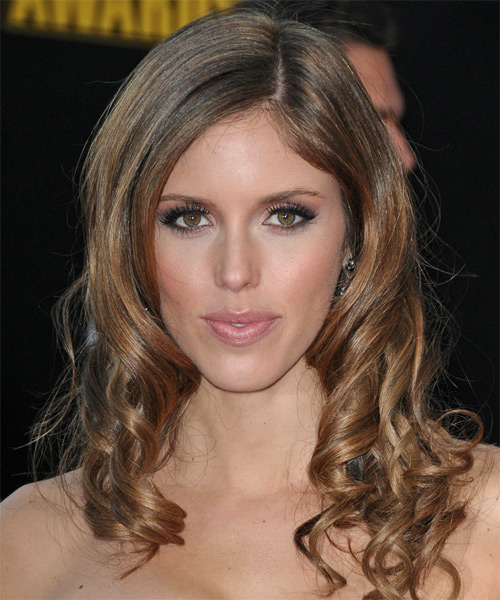 Kayla Ewell - Formal Long Wavy Hairstyle