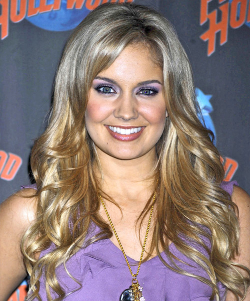 Tiffany Thornton Long Wavy Formal Hairstyle