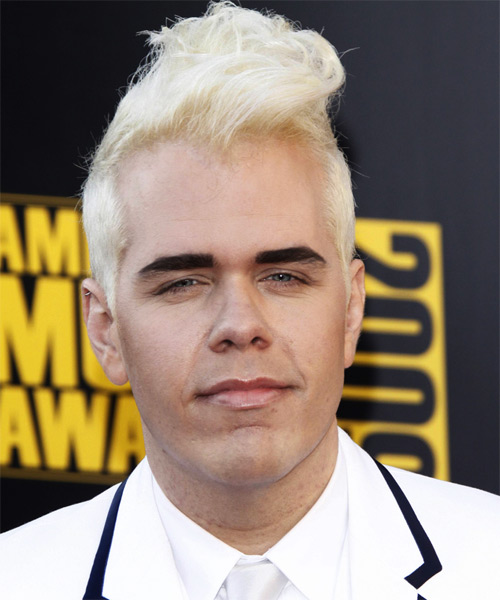 Perez Hilton Short Straight Hairstyle