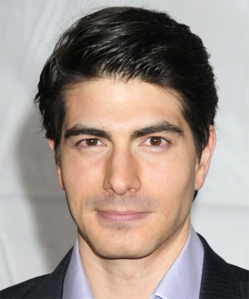 Brandon Routh Short Straight Hairstyle