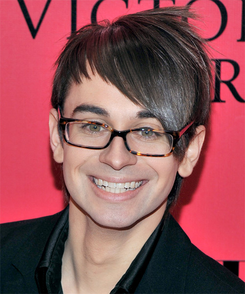 Christian Siriano Short Straight Alternative Hairstyle