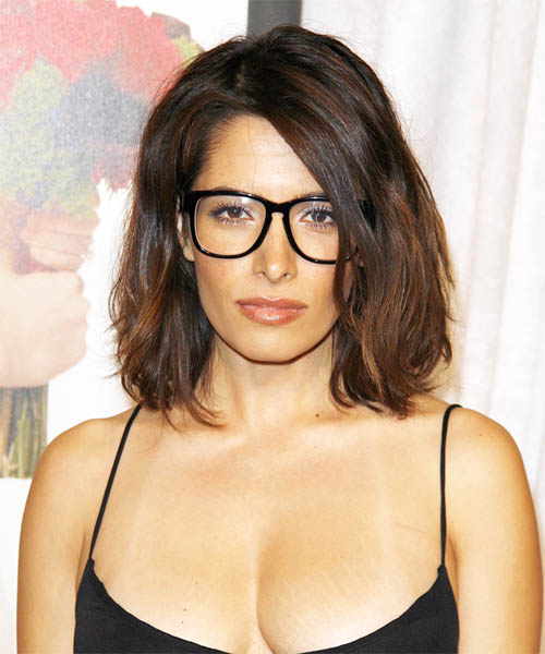 Sarah Shahi Medium Straight Hairstyle