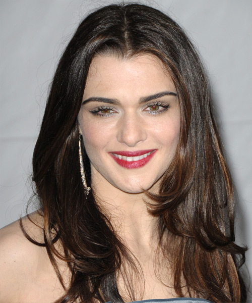 Rachel Weisz Long Straight Hairstyle - Dark Brunette