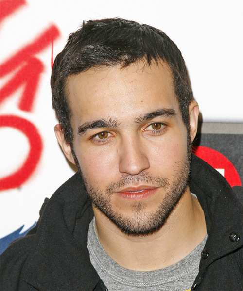 Pete Wentz Short Straight Hairstyle