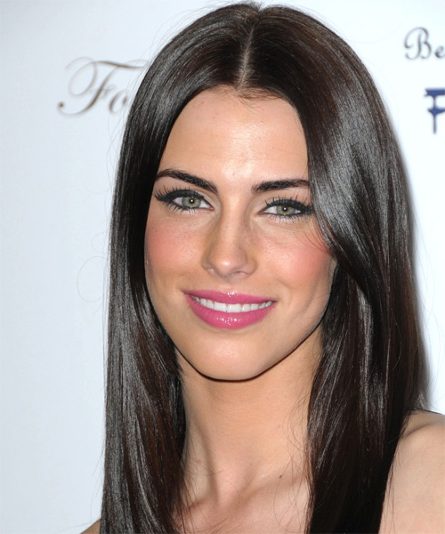 Jessica Lowndes - Casual Long Straight Hairstyle