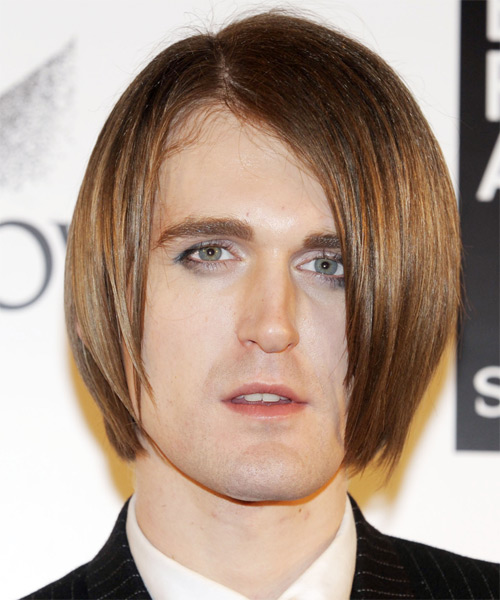 Gareth Pugh Medium Straight Formal Hairstyle