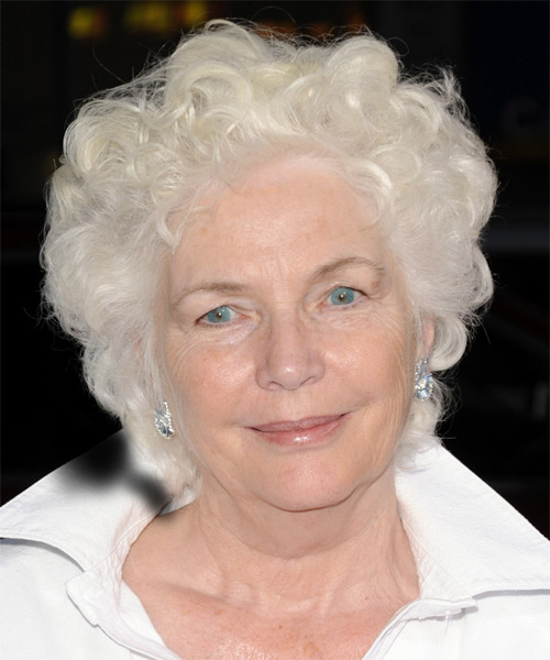 Fionnula Flanagan Short Curly Hairstyle