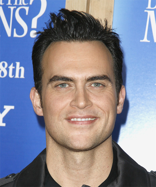 Cheyenne Jackson Short Straight Hairstyle