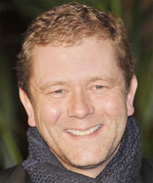 Jon Culshaw - Formal Short Wavy Hairstyle