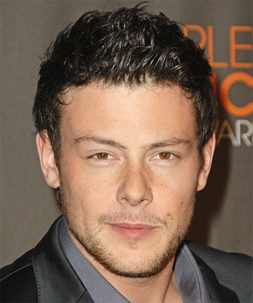 Corey Monteith - Casual Short Straight Hairstyle