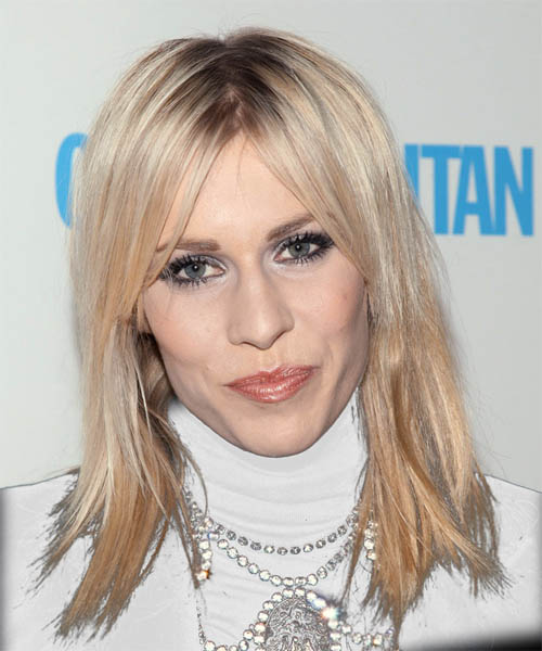 Natasha Bedingfield Long Straight Casual Hairstyle
