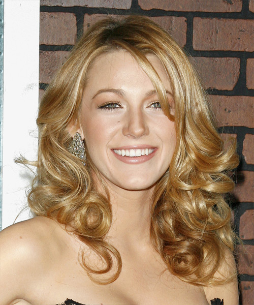 Blake Lively Long Wavy Formal