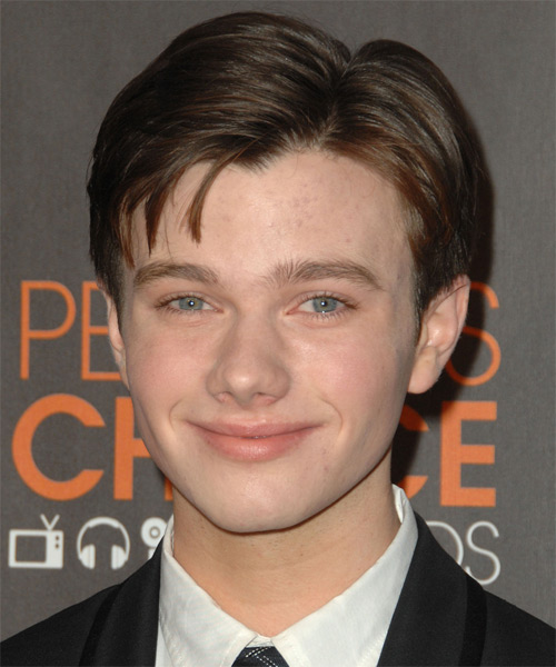 Chris Colfer - Formal Short Straight Hairstyle