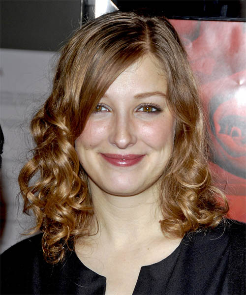 Alexandra Maria Lara Long Curly Hairstyle