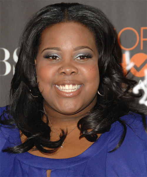 Amber Riley Wavy Formal