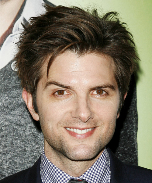 Adam Scott Short Straight Casual Hairstyle