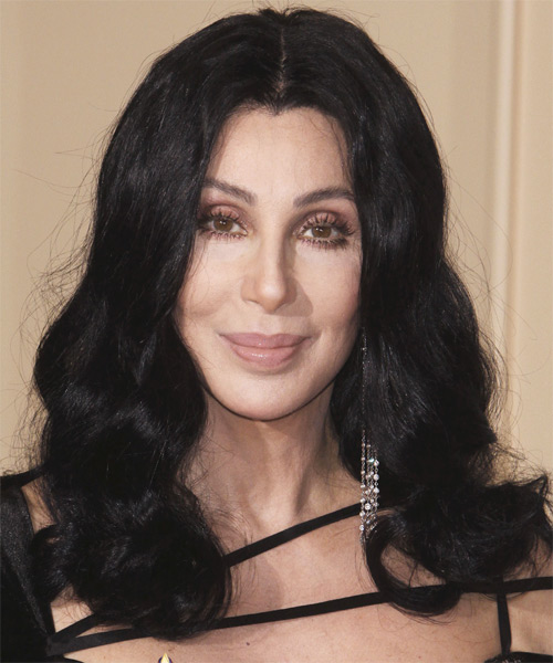 Cher Long Wavy Hairstyle