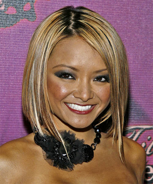 Tila Tequila Medium Straight Hairstyle