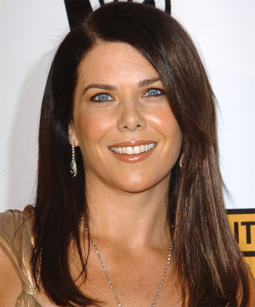 Lauren Graham Long Straight Hairstyle