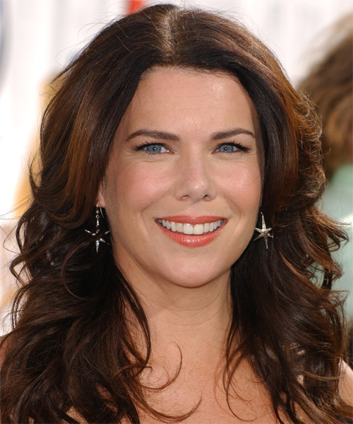 Lauren Graham Long Wavy Hairstyle