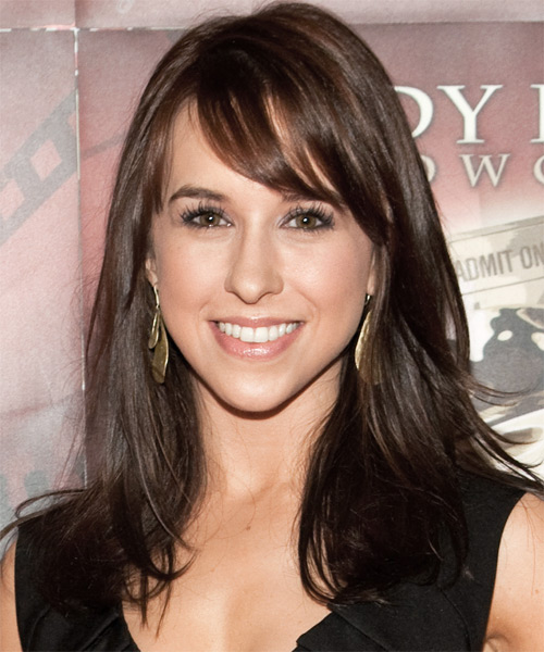Lacey Chabert Long Straight Casual Hairstyle