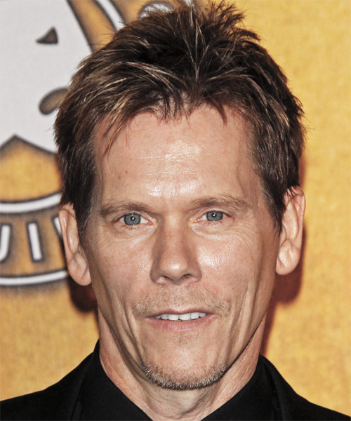 Kevin Bacon Short Straight Hairstyle