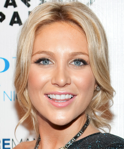Stephanie Pratt Casual Curly Updo Hairstyle