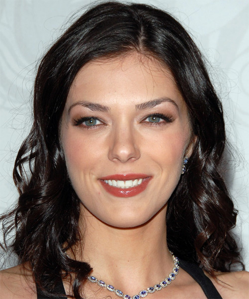 Adrianne Curry - Formal Long Wavy Hairstyle
