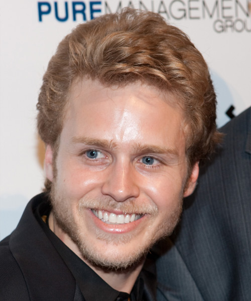 Spencer Pratt Short Straight Formal Hairstyle